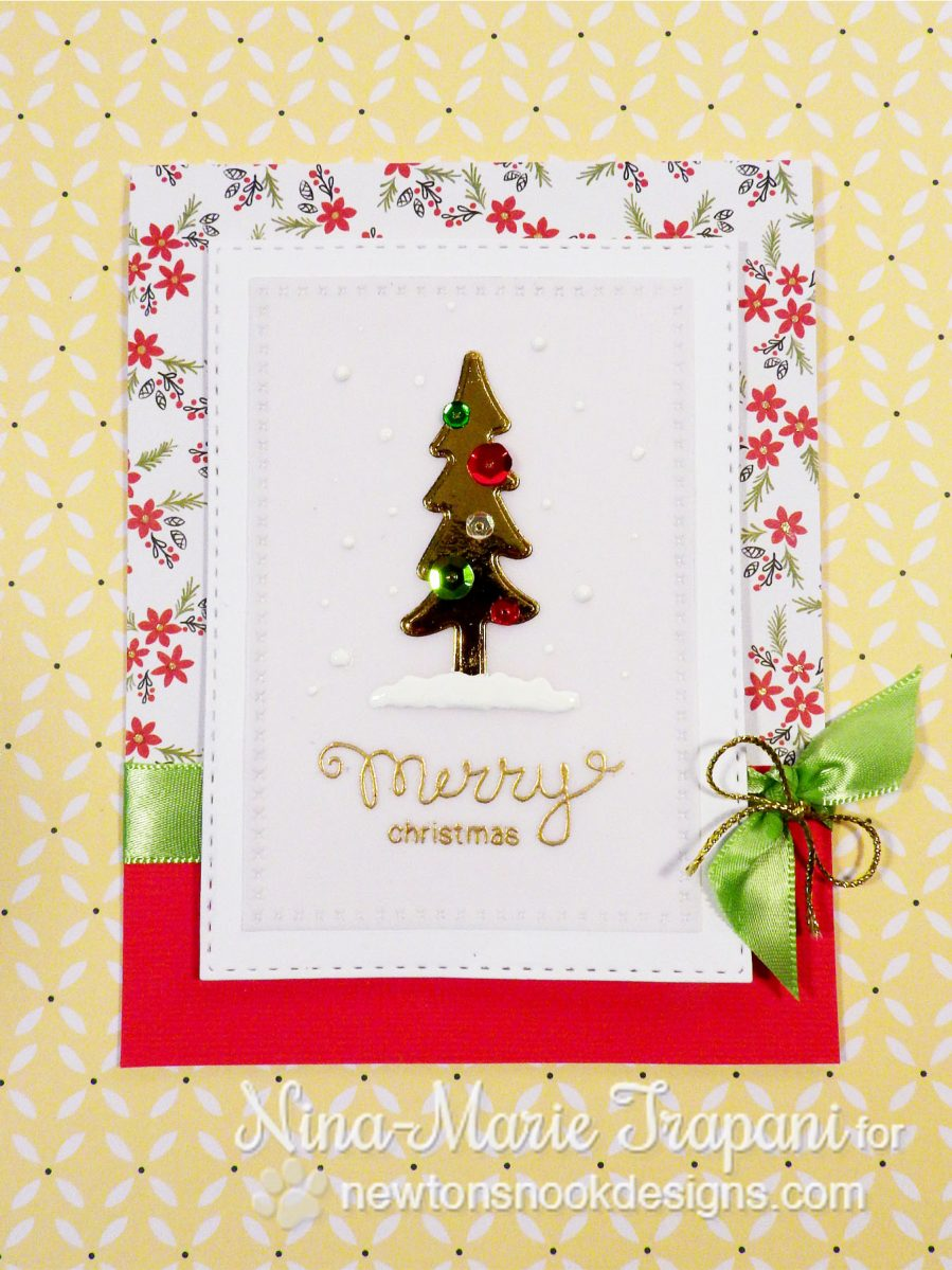 Foiling Die Cuts with Newton's Nook_1