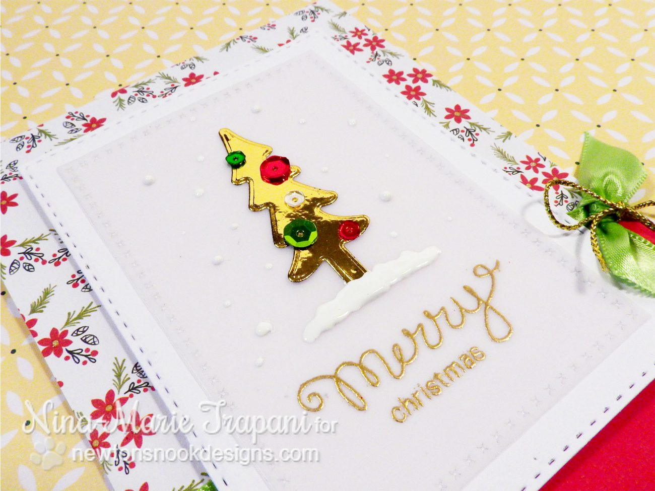Foiling Die Cuts with Newton's Nook_2