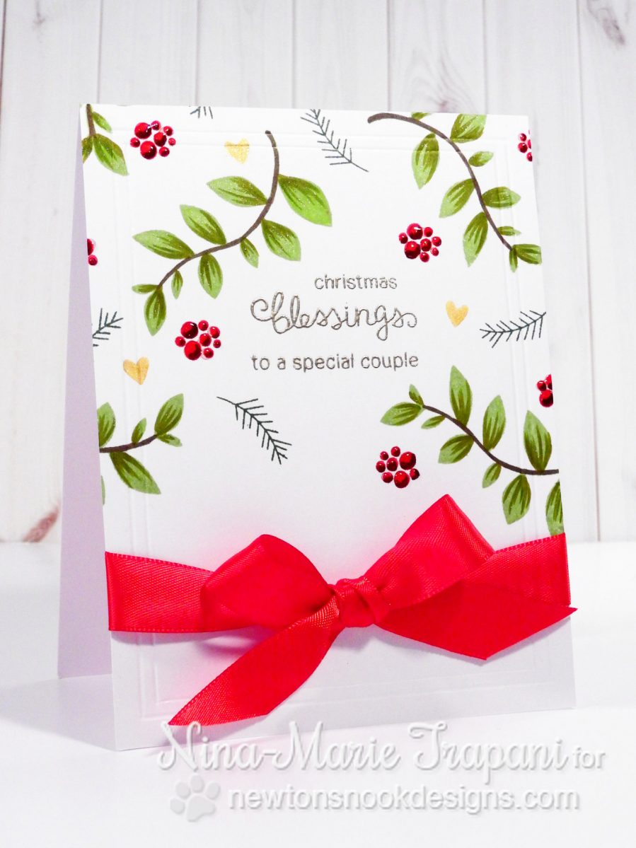 Clean and Simple Christmas Card_2