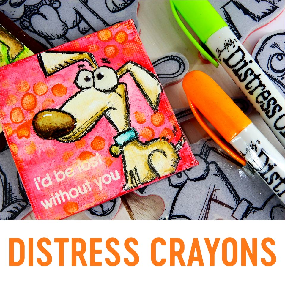 Distress Crayons | Nina-Marie Design
