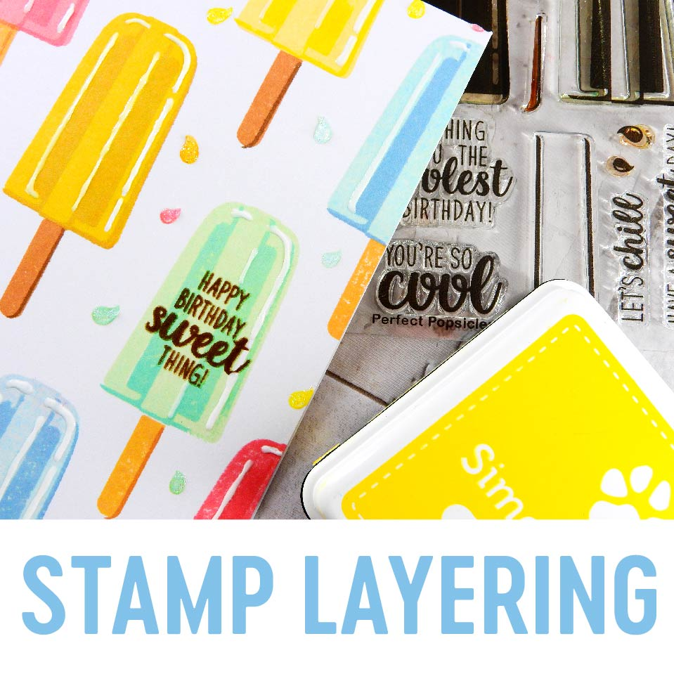technique: stamp layering