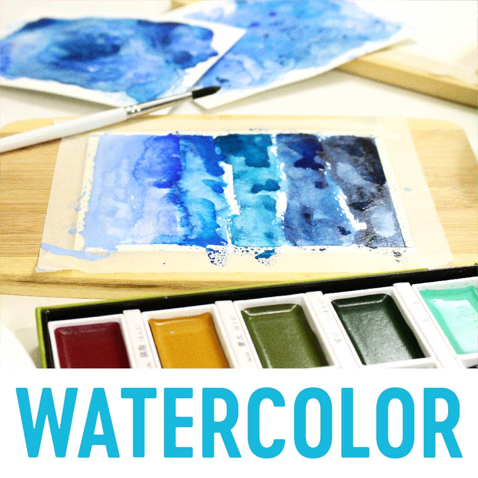 Watercolor | Nina-Marie Design