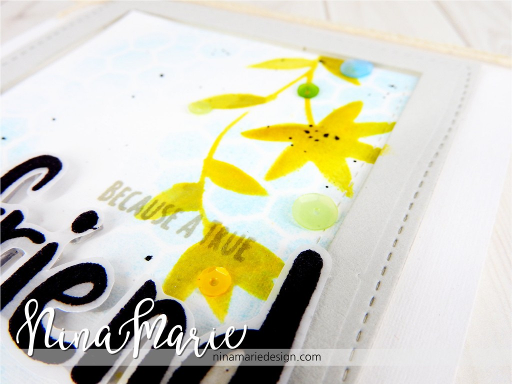 Clean & Simple Distress Stenciling + Whimsy Reveal #2 _1