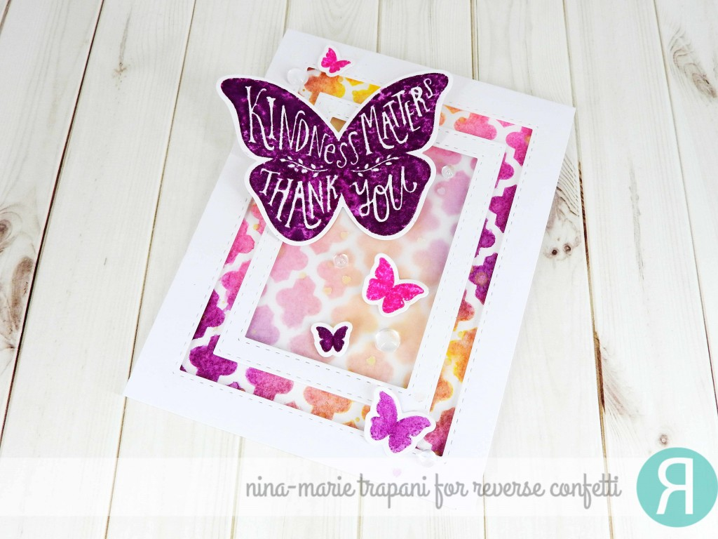 Watercolor Stamping with Distress Inks_3