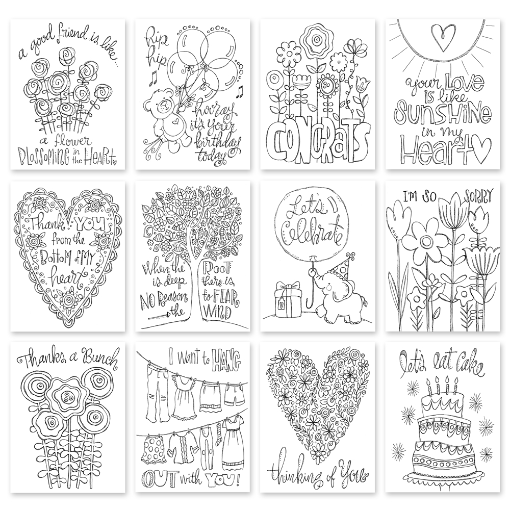 photo regarding Stamp Printable named Copic Coloured Simon States Stamp Printables Nina-Marie Structure