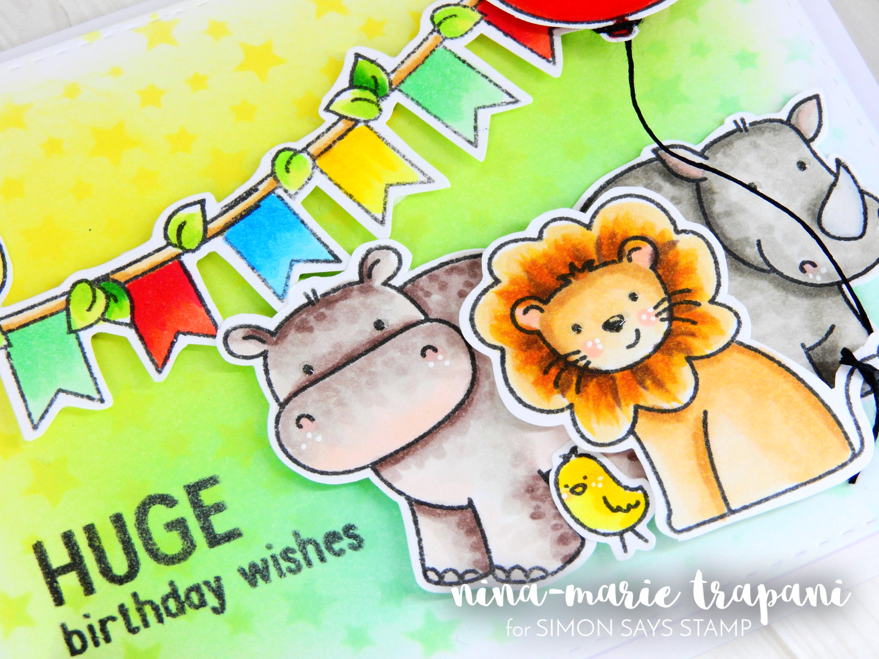 Copic Colored Birthday Scene_4