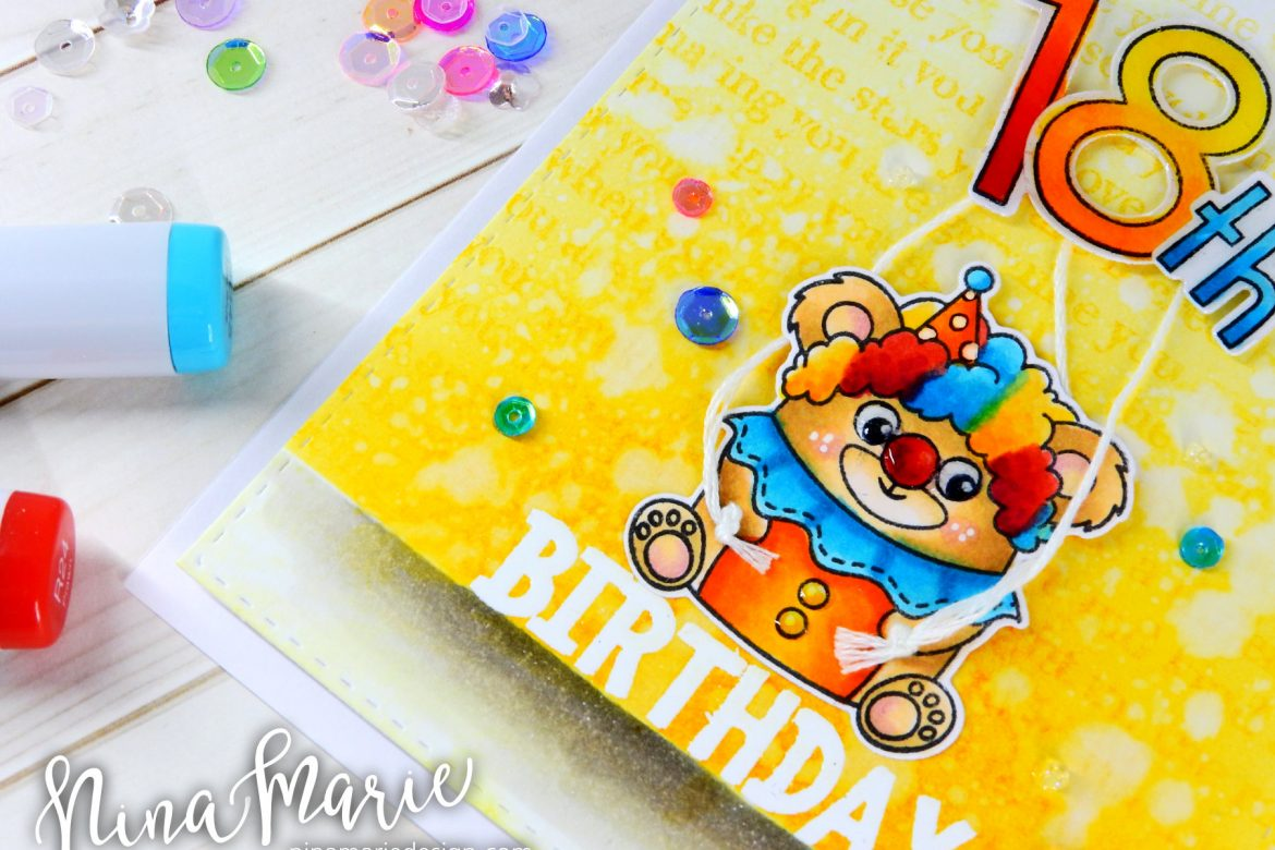 Simon Says Stamp Critter Costume Party Birthday Card + Video Hop