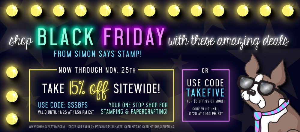 Black Friday Simon Says Stamp