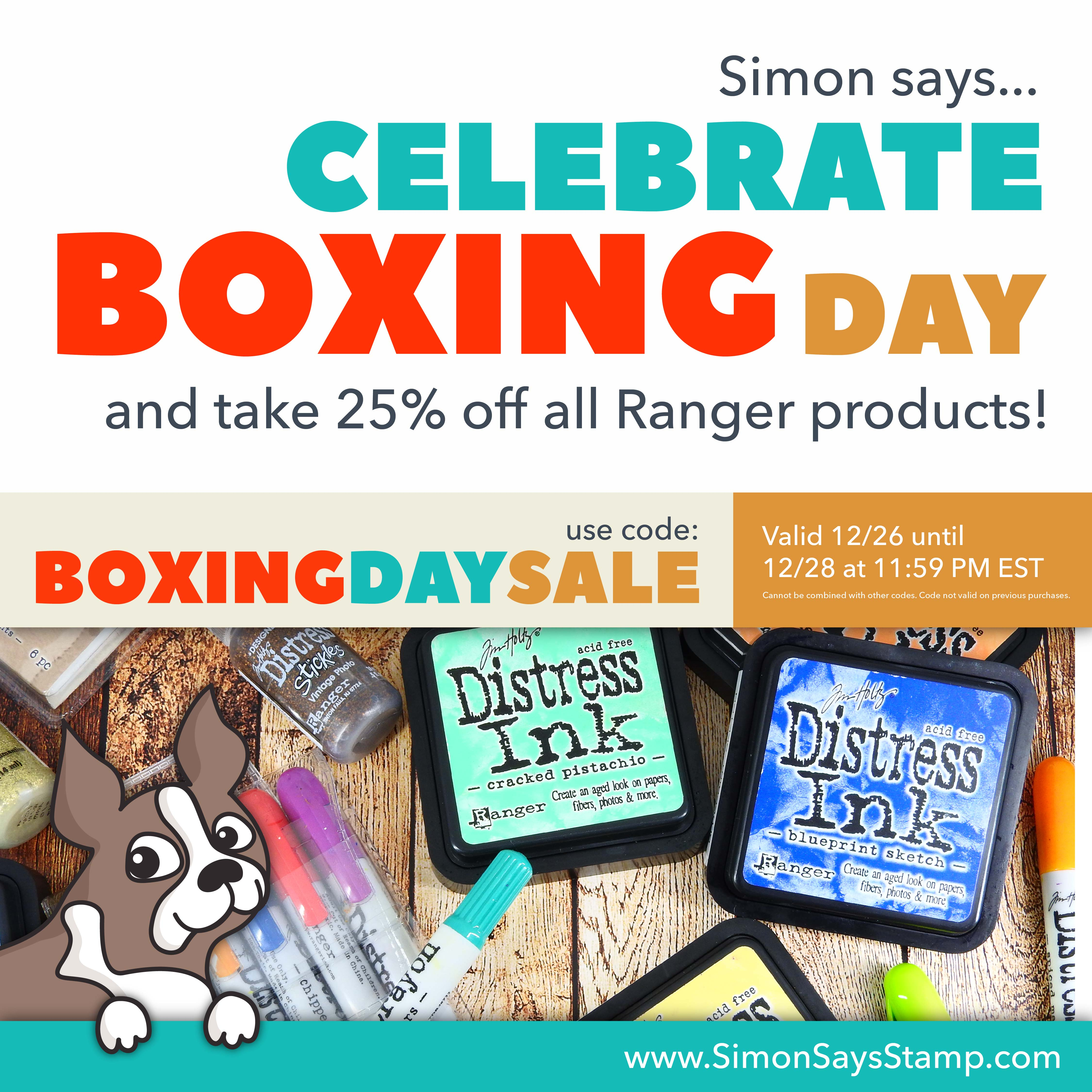 Boxing Day Sale Simon Says Stamp Nina-Marie Design