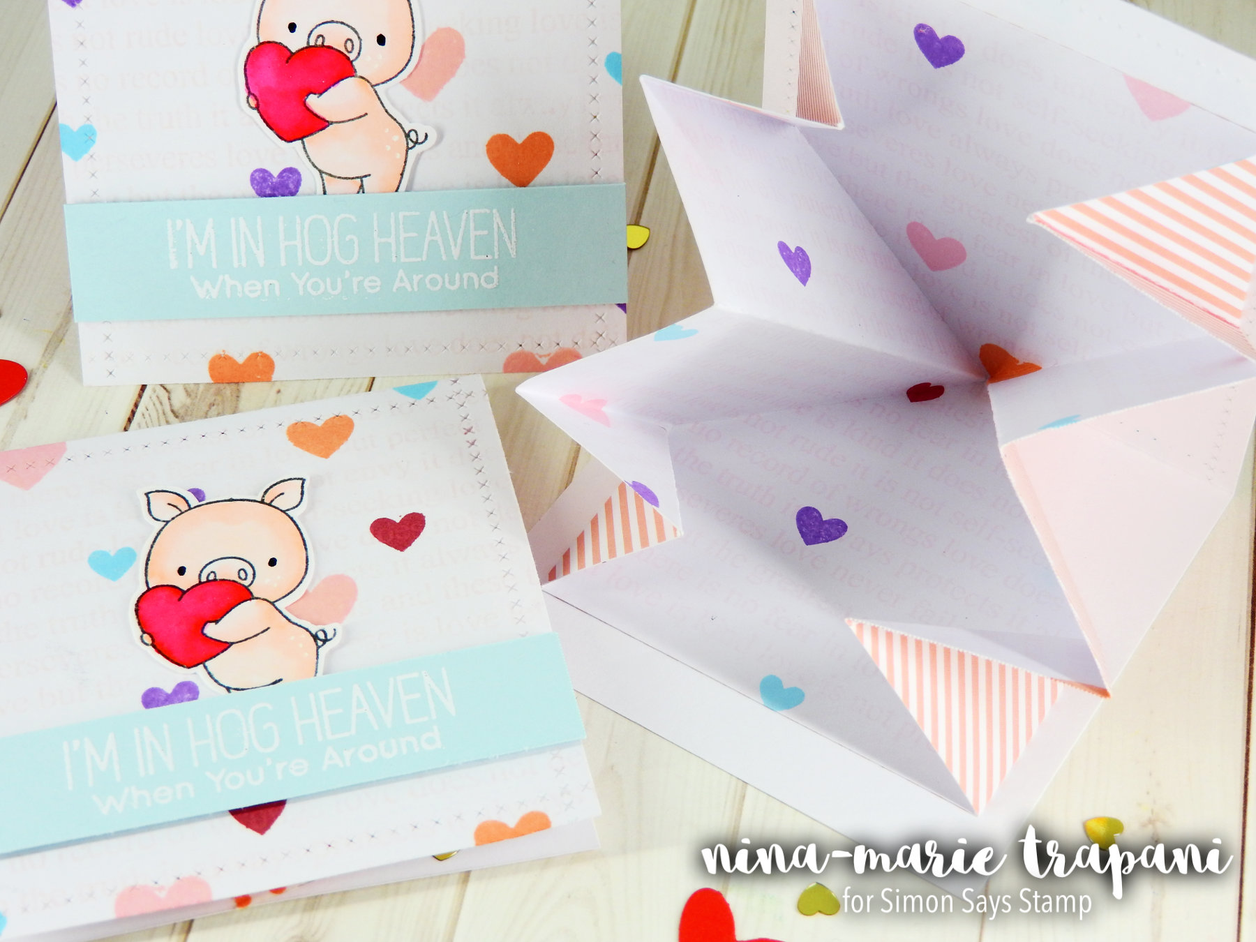 Pop Out Surprise Valentines Nina-Marie Design
