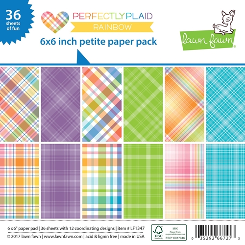 Lawn Fawn Perfectly Plaid | Nina-Marie Design