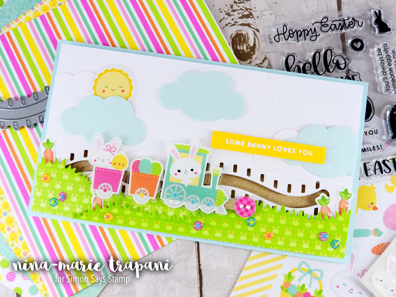 Sticker Slider Card | Nina-Marie Design