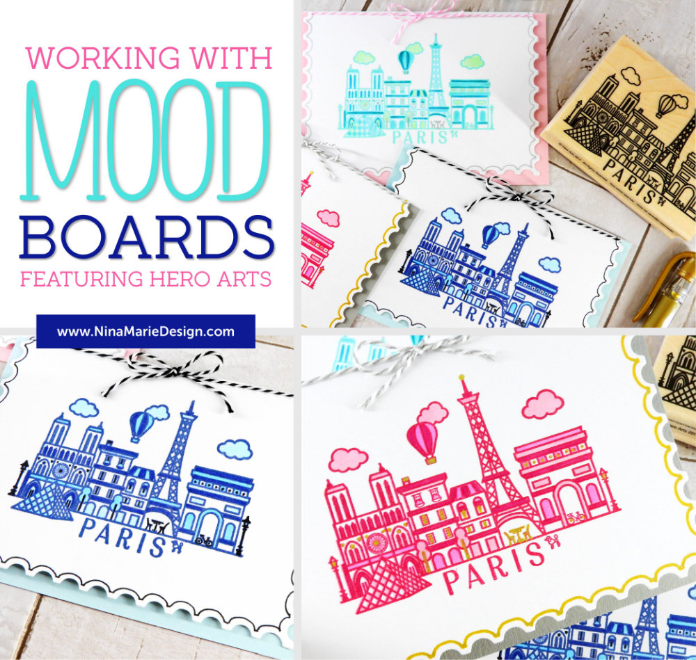 Working with Mood Boards + Hero Arts | Nina-Marie Design