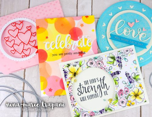 Studio Monday with Nina-Marie: 5 Ways to Use Circle Dies