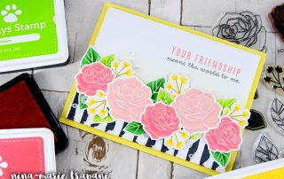 Adding Dimension to Stamped Images | Nina-Marie Design