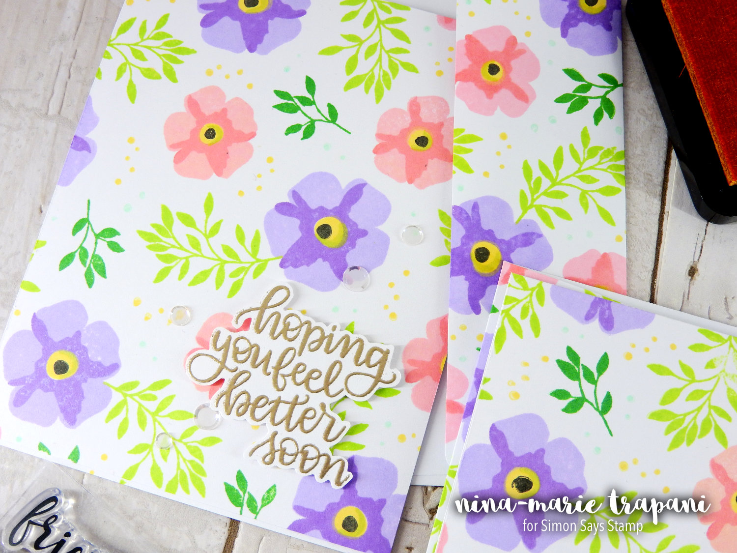Stamp Layering + Easy Mail Card Set + Hop | Nina-Marie Design