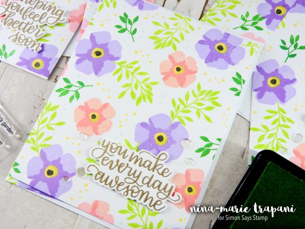 Layered Stamping | Nina-Marie Design