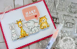 Watercolor Critters + Winnie and Walter's 3rd Birthday Bash | Nina-Marie Design