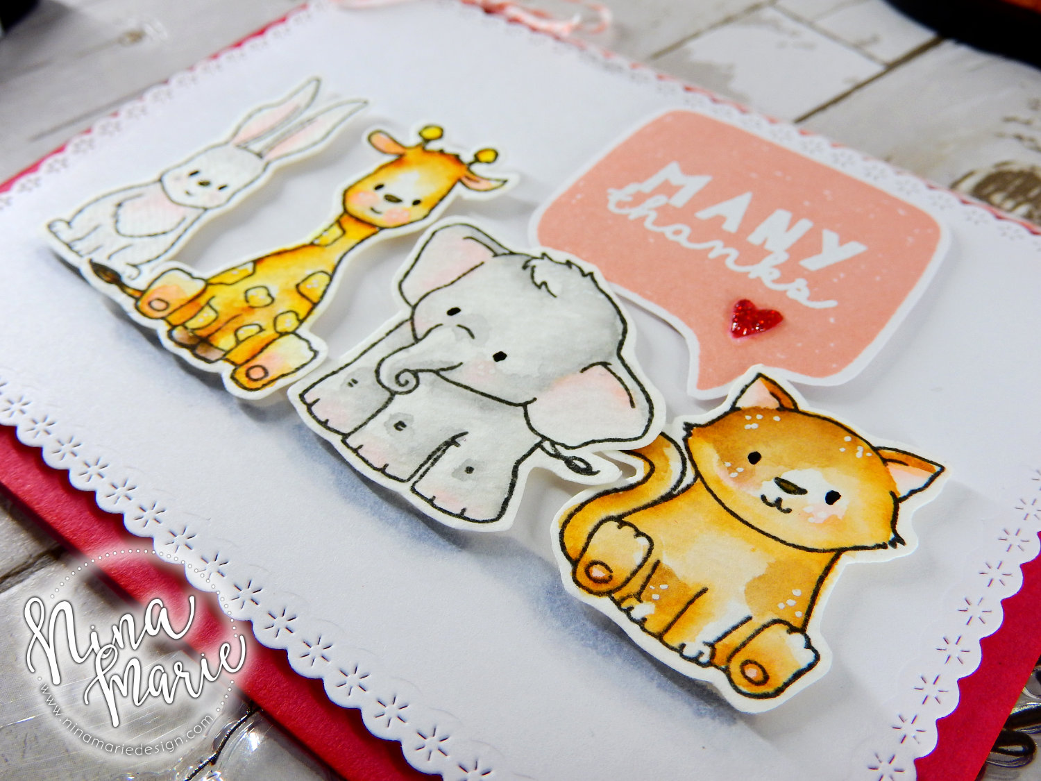 Zig Watercolor Critters + Winnie & Walter Birthday Bash | Nina-Marie Design