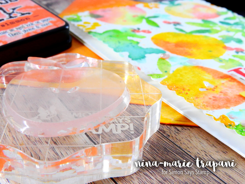 Distress Watercolor Stamping | Nina-Marie Design