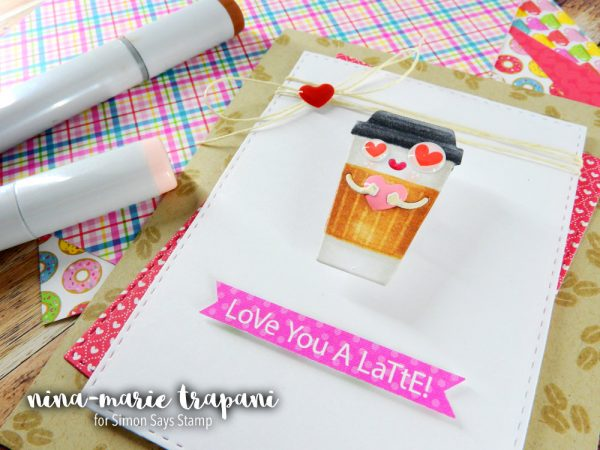 Doodlebug Coffee Love Action Wobble | Nina-Marie Design