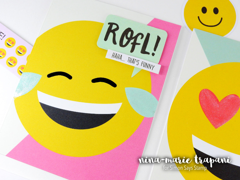 Quick and Easy Emoji-tional Cards! | Nina-Marie Design