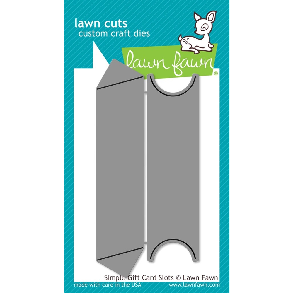 Lawn Fawn Simple Gift Card Slots | Nina-Marie Design