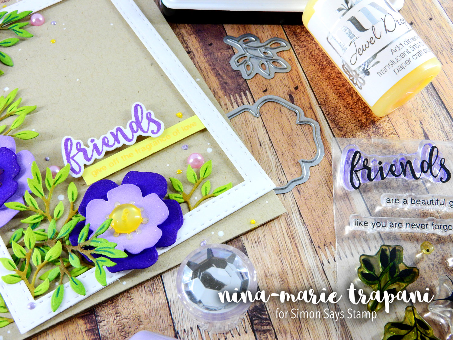 Die Cut Florals + Little Details | Nina-Marie Design