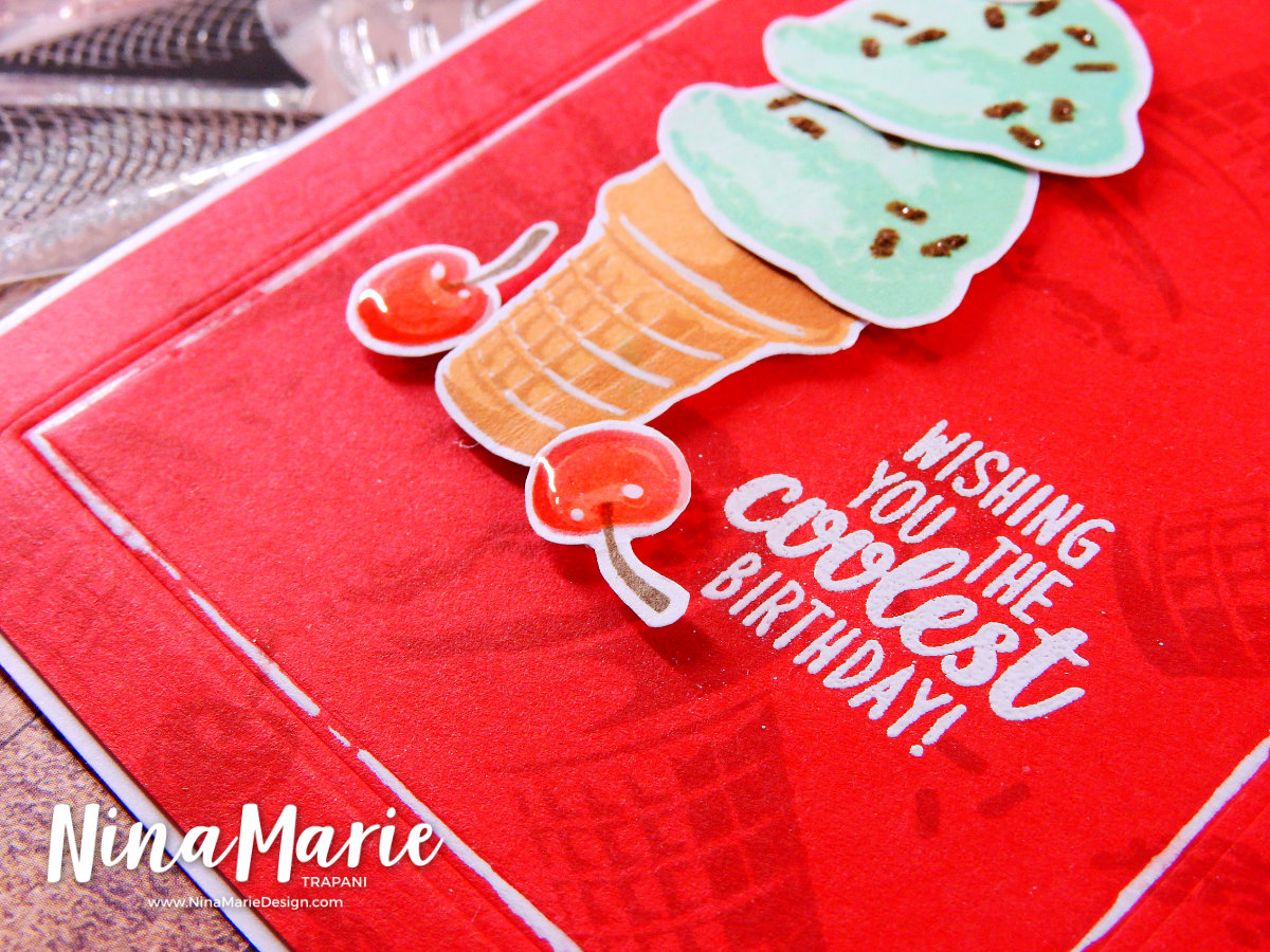 Easy Mail Stamp Layering | Nina-Marie Design