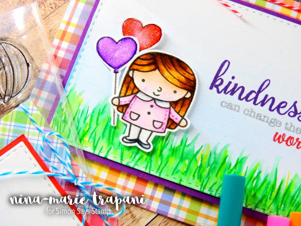 Friendship Cards with Simple Supplies | Nina-Marie Design