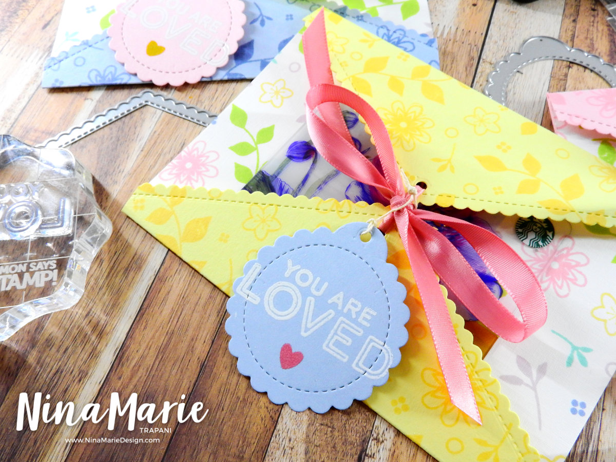 Gatefold Gift Card Holder | Nina-Marie Design