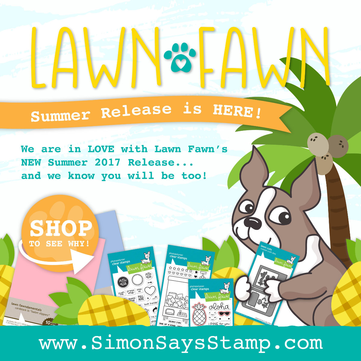 Lawn Fawn Summer Release | Nina-Marie Design