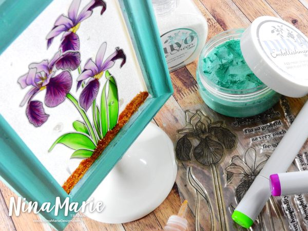 Mixed Media with a Clean and Simple Twist + Hop | Nina-Marie Design