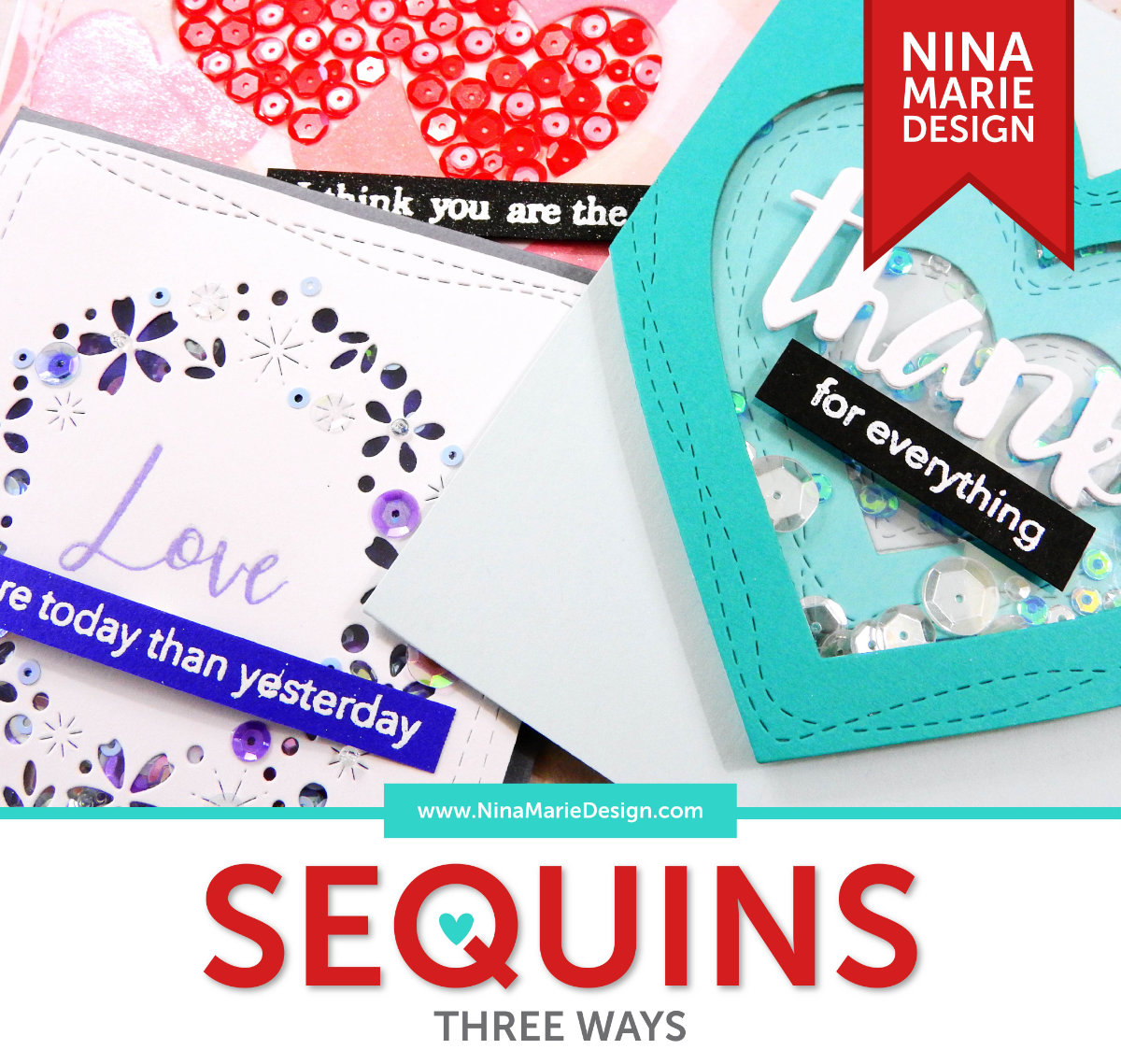 Sequins 3 Ways | Nina-Marie Design