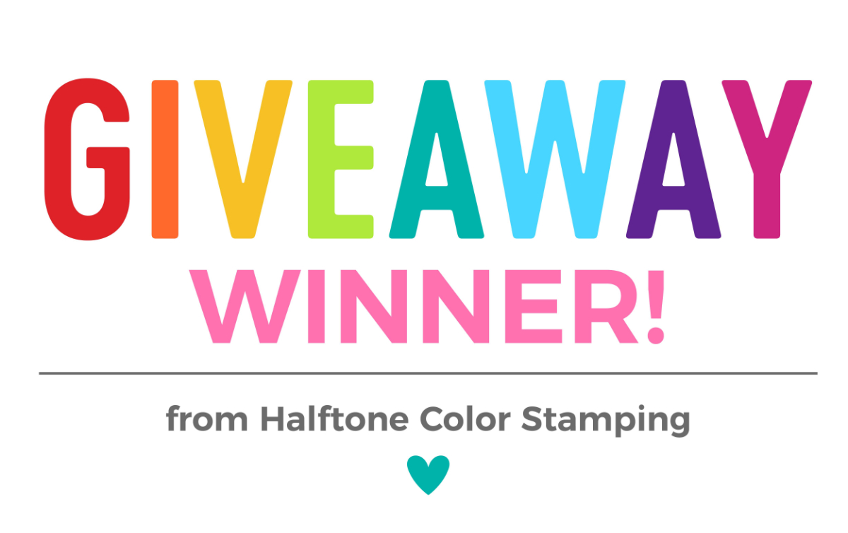 Halftone Color Stamping Giveaway | Nina-Marie Design