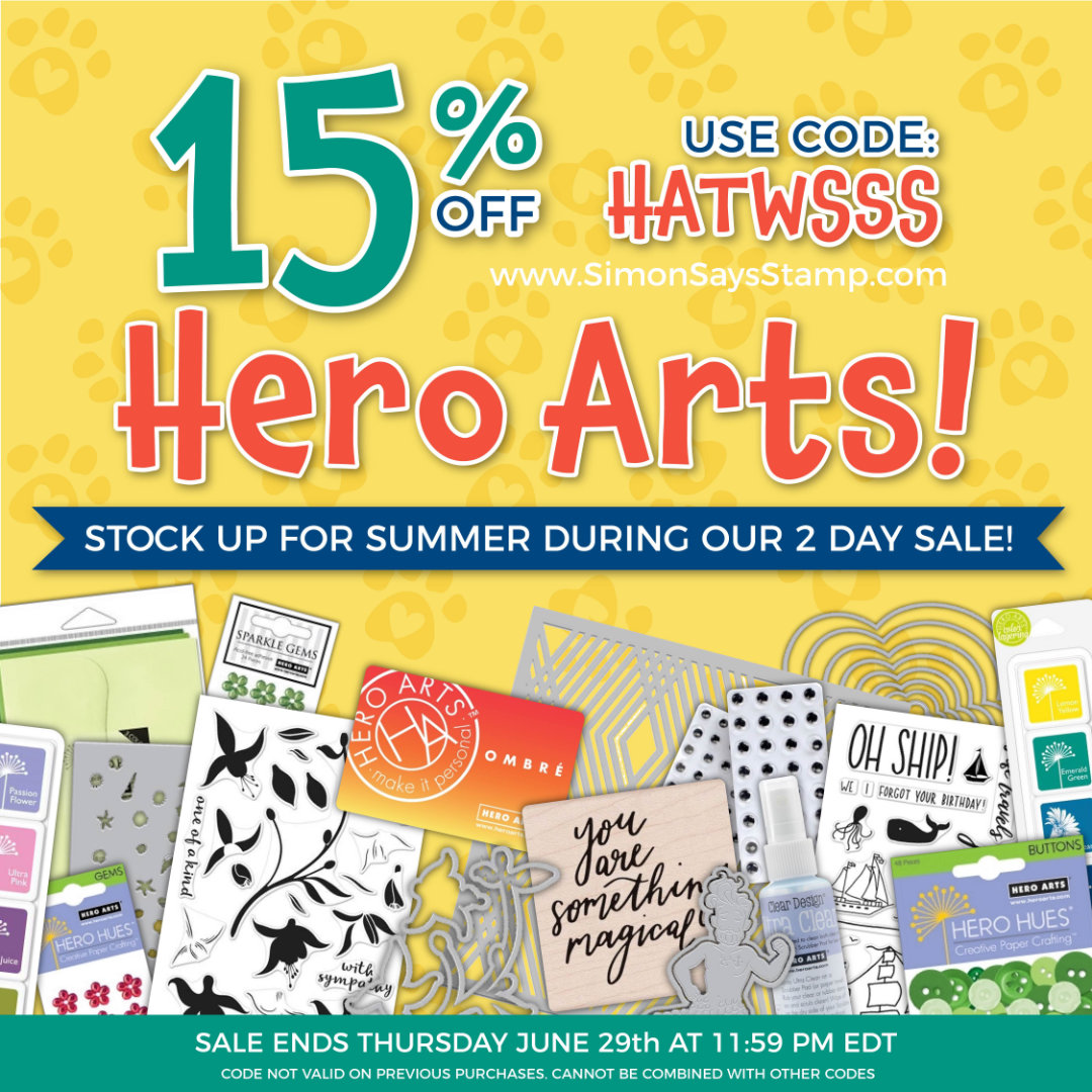 Hero Arts Sale | Nina-Marie Design