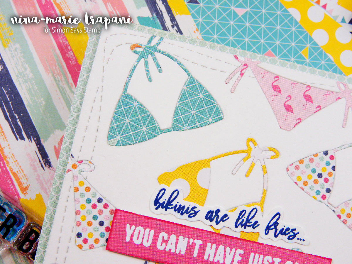July 2017 Simon Says Stamp Card Kit | Nina-Marie Design