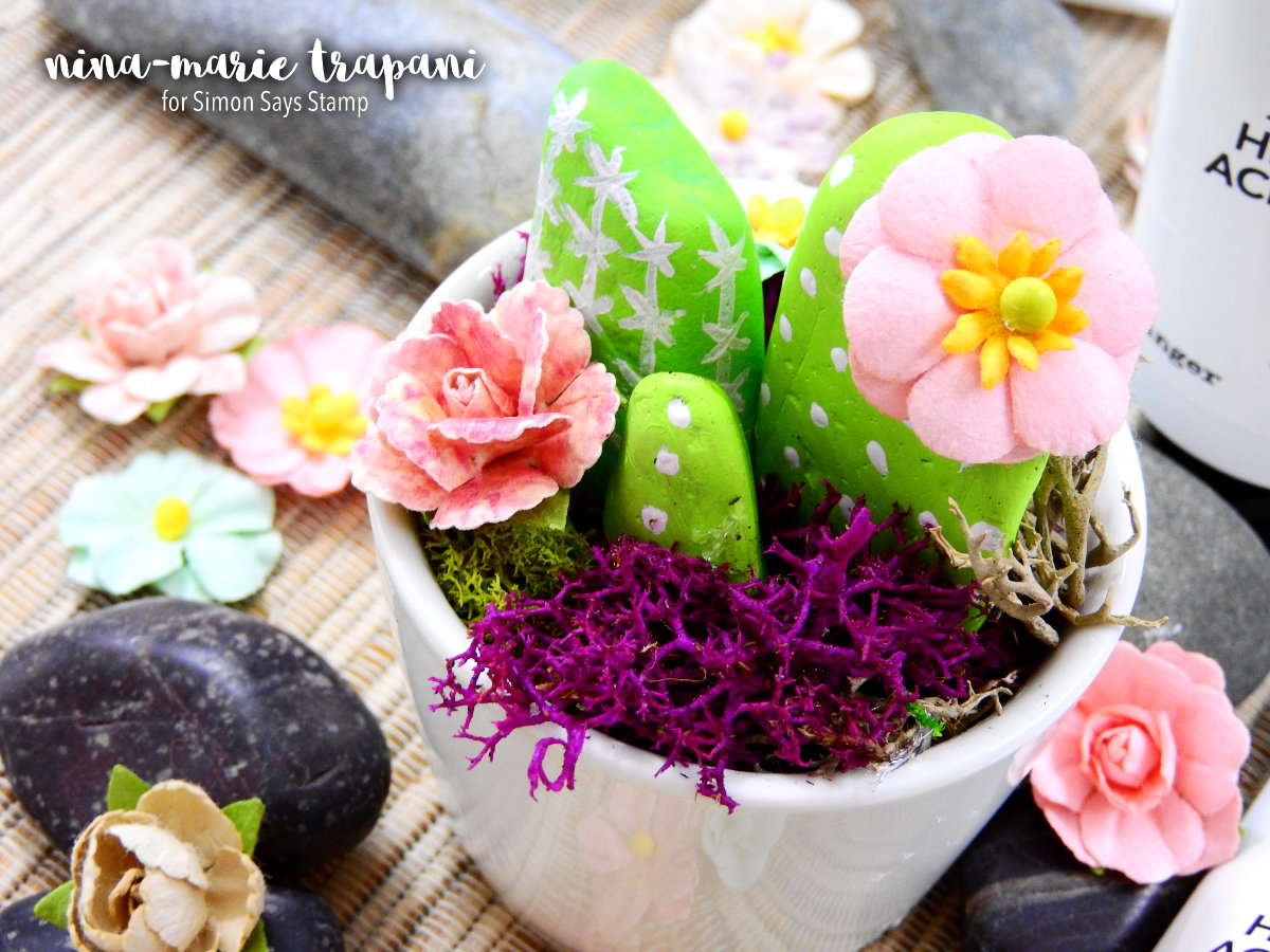 DIY Outdoor Craft: Cacti Plant | Nina-Marie Design