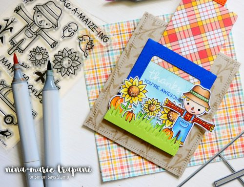 Studio Monday with Nina-Marie: Lawn Fawn Magic Slider