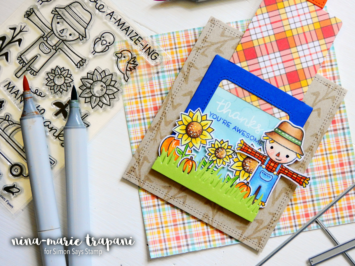 Building a Scene with Lawn Fawn's Magic Slider | Nina-Marie Design