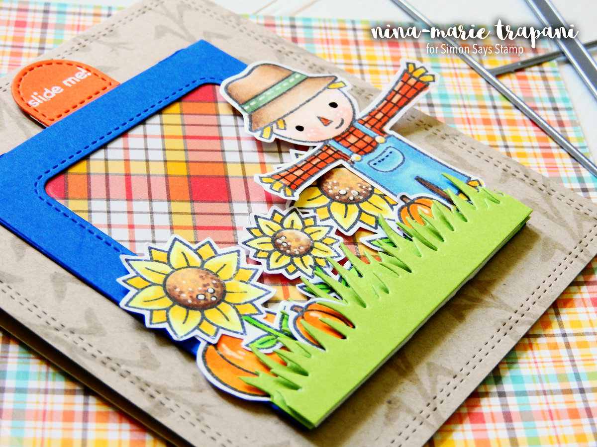 Building a Scene with Lawn Fawn's Magic Slider   Nina-Marie Design