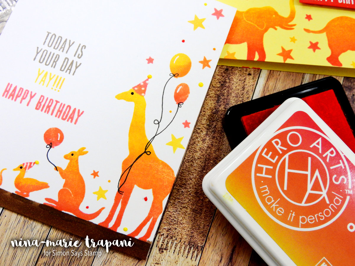 Hero Arts Ombre Ink + 2 Cards | Nina-Marie Design