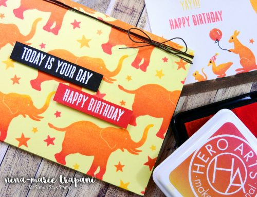 Studio Monday with Nina-Marie: Hero Arts Ombre Ink + 2 Cards