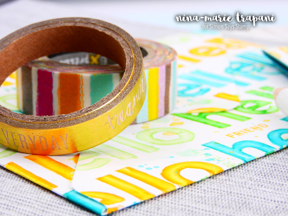 A Super Imposed Design + Using Letter Stamps | Nina-Marie Design