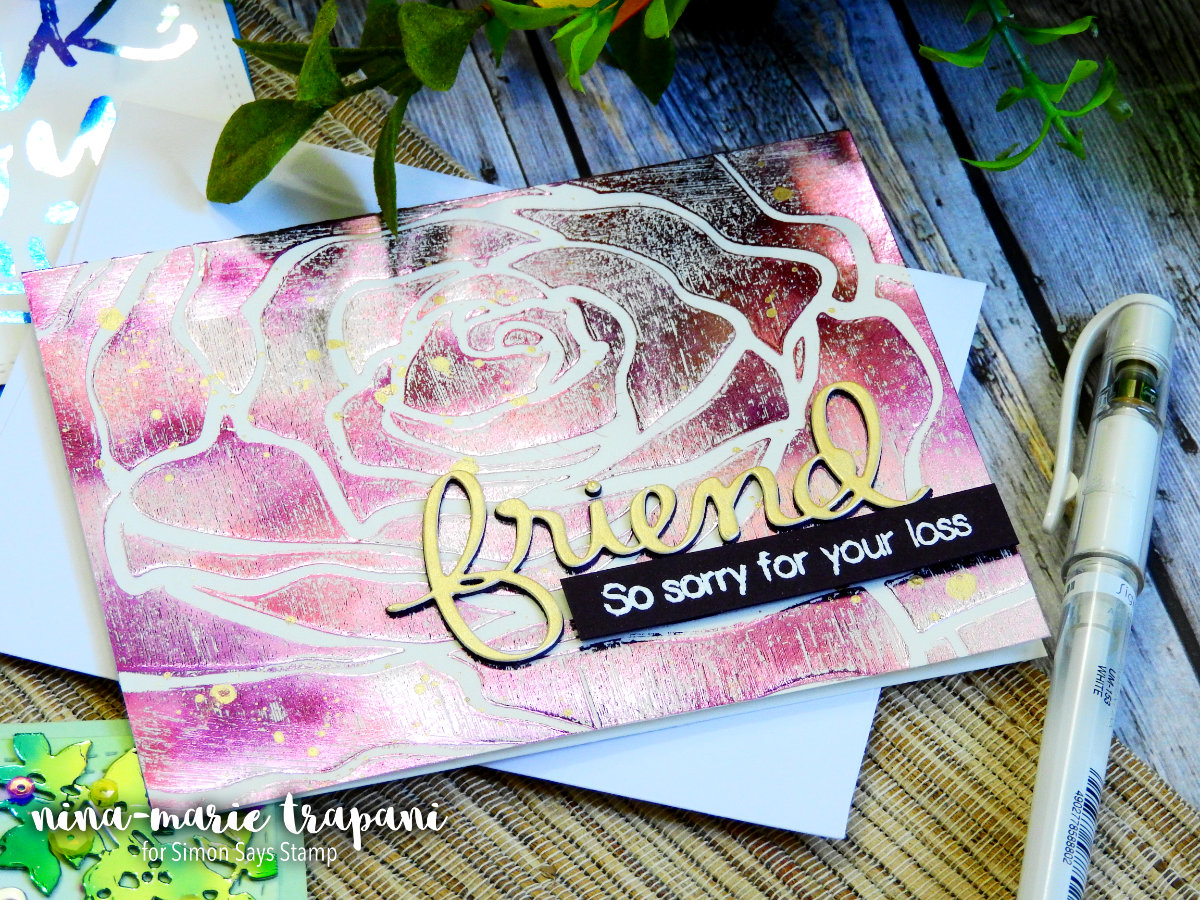 Distress Foiling with ThermoWeb 3 Ways | Nina-Marie Design