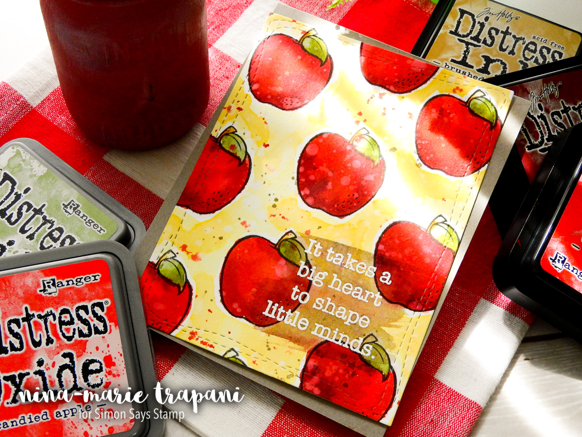 Teacher Apple Jar Gift + Card | Nina-Marie Design