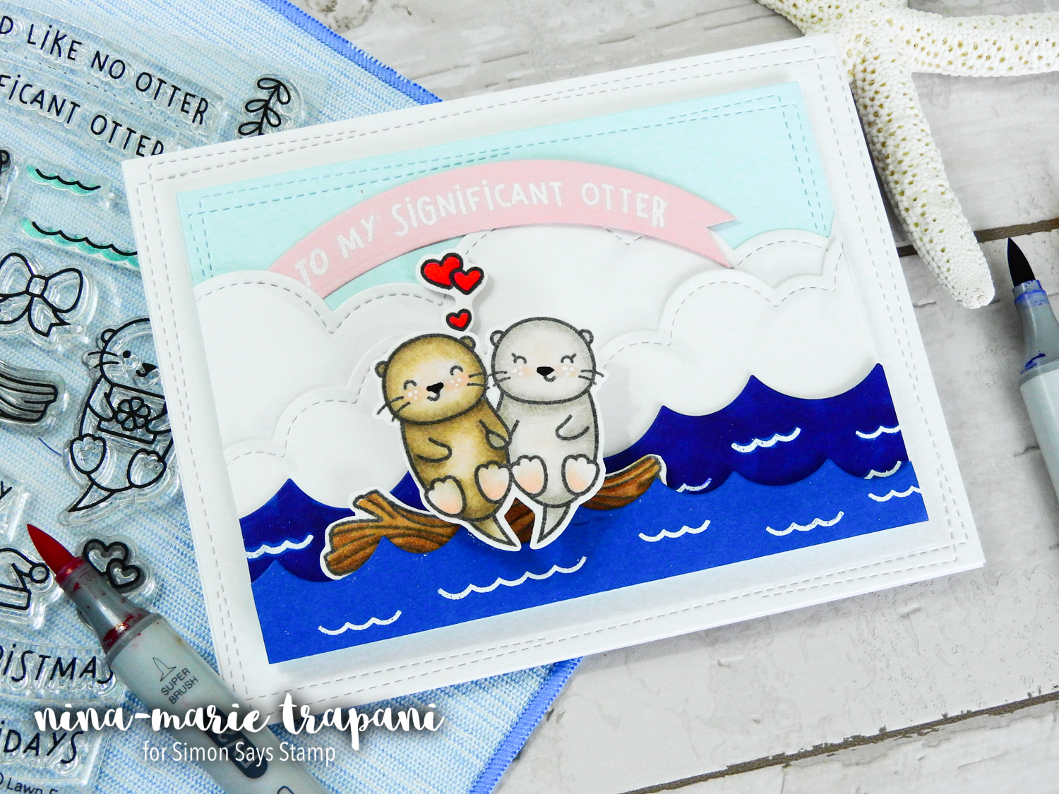 Lawn Fawn STAMPtember Exclusive + Action Wobble Scene | Nina-Marie Design