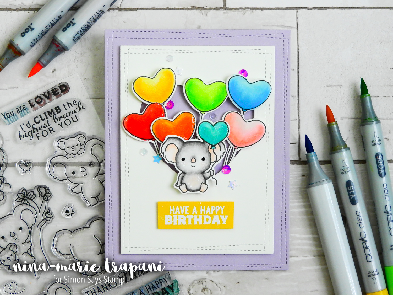 Window Scenes 3 Ways + Sugar Pea Stamptember Exclusive | Nina-Marie Design