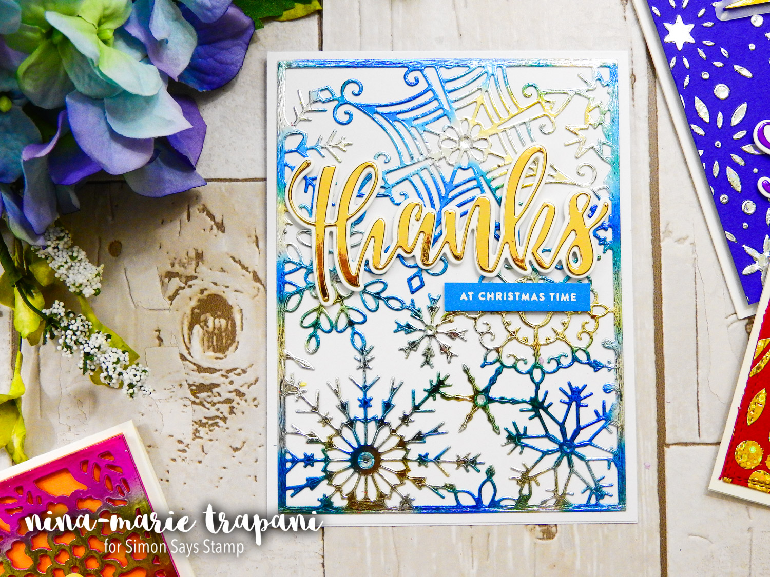5 Ideas for Foiling | Nina-Marie Design