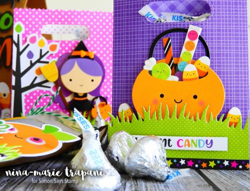 Studio Monday with Nina-Marie: Doodlebug Treat Bags for Halloween!
